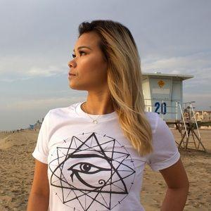 NWT 12-Point Star Sacred Geometry T-Shirt